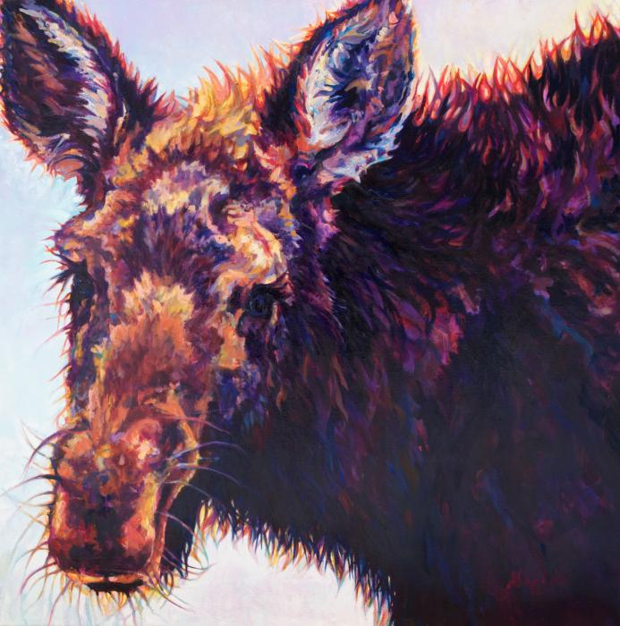 Alces :: Artwork by Patricia A. Griffin