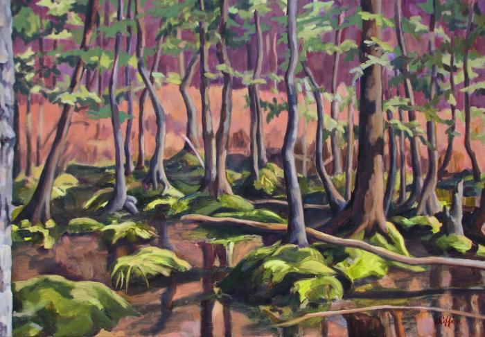 Bear Swamp Spring :: Artwork by Patricia A. Griffin