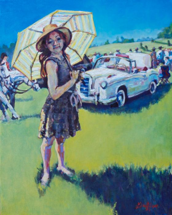 Bugsy :: Artwork by Patricia A. Griffin