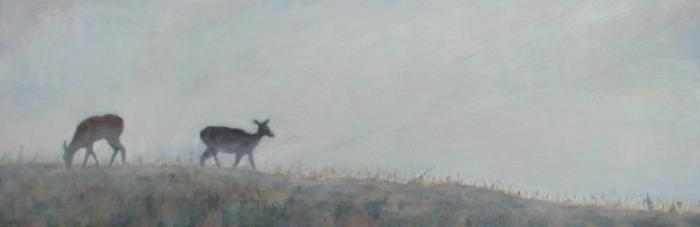 Doe at Dusk :: Artwork by Patricia A. Griffin