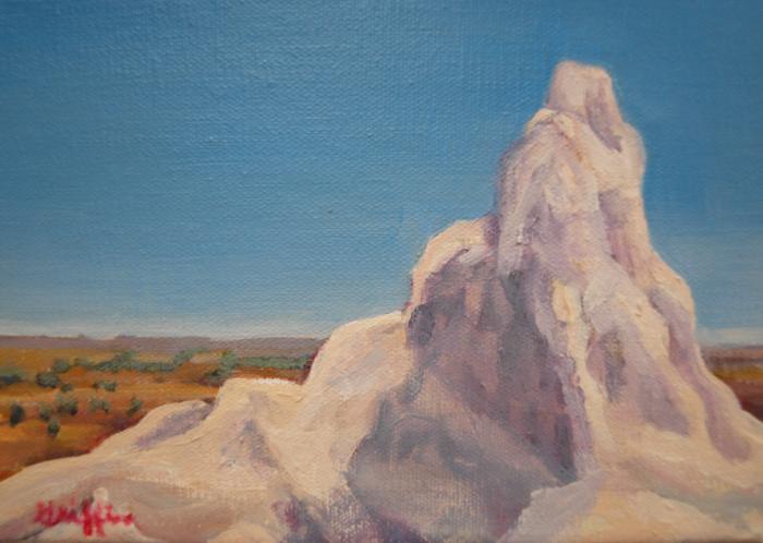 Medicine Rock :: Artwork by Patricia A. Griffin