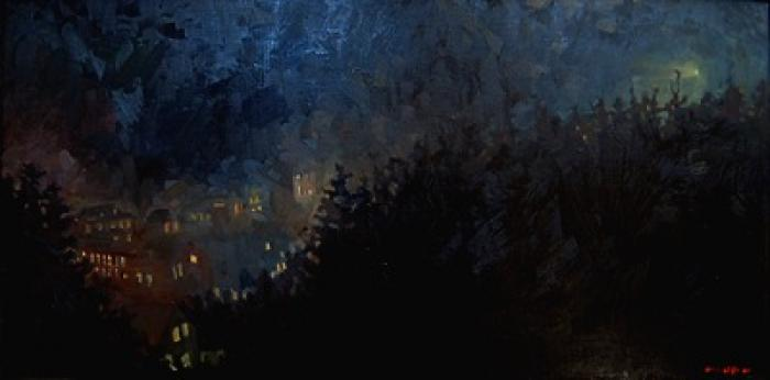 Monhegan Light :: Artwork by Patricia A. Griffin