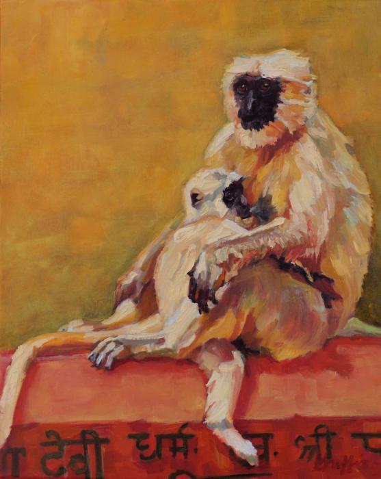 Rishekesh :: Artwork by Patricia A. Griffin