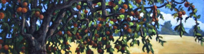 Russet Apples :: Artwork by Patricia A. Griffin