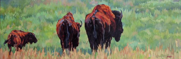 Trio :: Artwork by Patricia A. Griffin