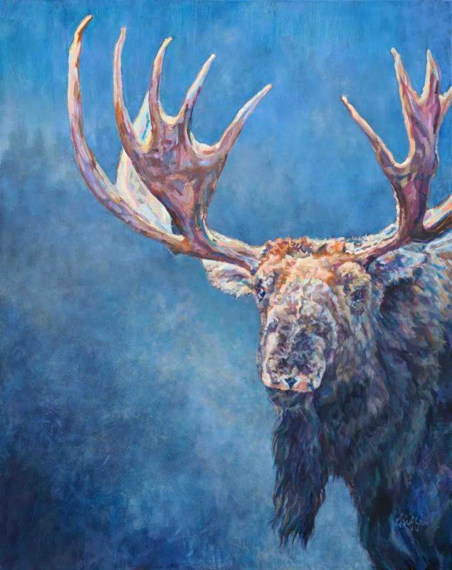 'Wilhelm' Painting from Patricia Griffin